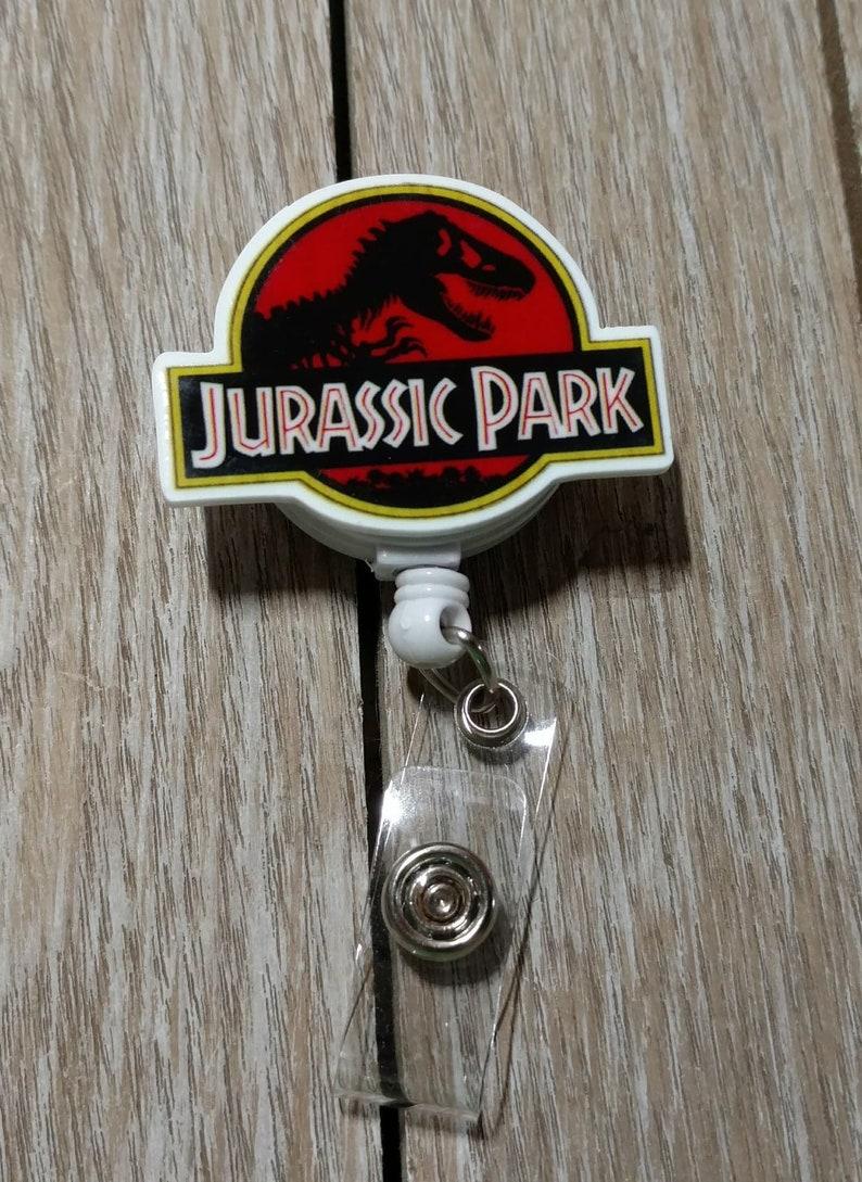 Id Badges Golden Girls Badge Reel Rotating Clip Pant Clip Nurse Badge Reels Teacher Gifts Coffee Badge Reel Jurassic Park Badge Reel