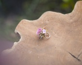 Flower ring, jewelry, wedding floral accessories, Ring,