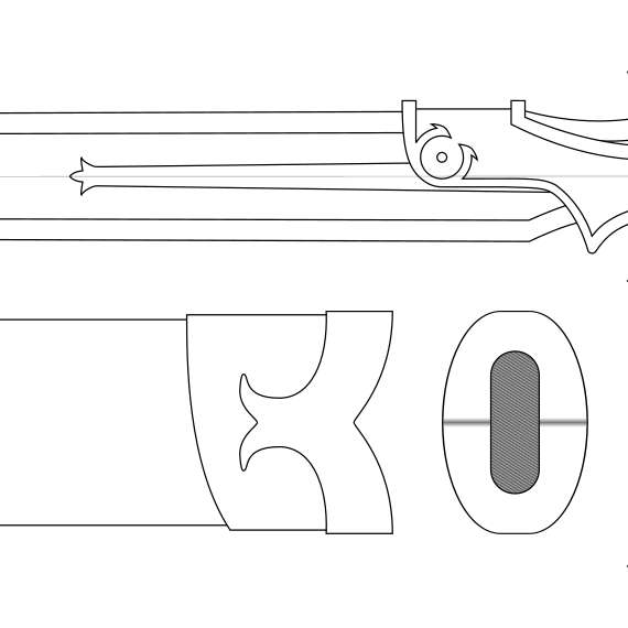 Lambent light blueprint sword art online de darkchannelprops en lambent light blueprint sword art online de darkchannelprops en etsy studio malvernweather Image collections