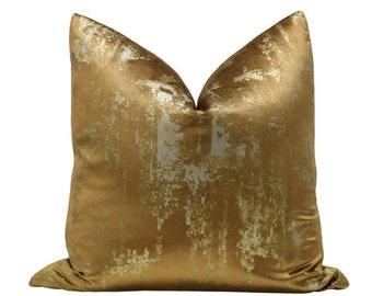 Gilded Velvet // Bronze Pillow COVER ONLY