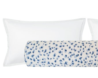 The Bolster : Dot Print // Periwinkle