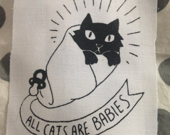 ACAB — all cats are babies patch