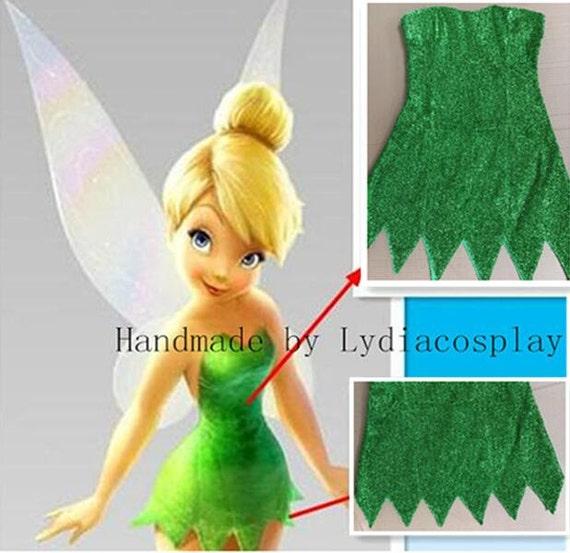 5faecc889a620e Fait à la main Tinker bell Costume Costume de fée   Etsy