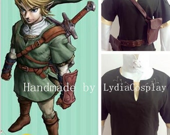 Handmade - Link Cosplay, Link Costume, The legend of Zelda Link Cosplay Costume