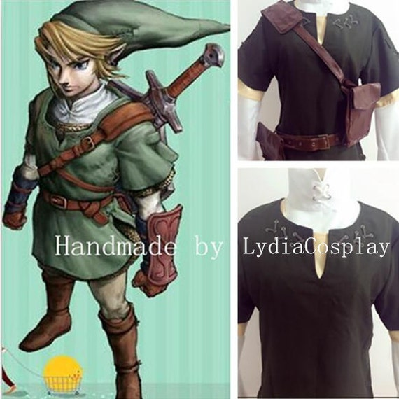 Handmade Link Cosplay Link Costume The legend of Zelda | Etsy