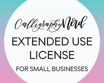 Small Run Extended License. Up to 100 runs. License for Small business.