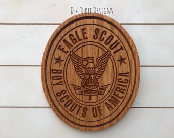 Boy Scout Eagle Plaque