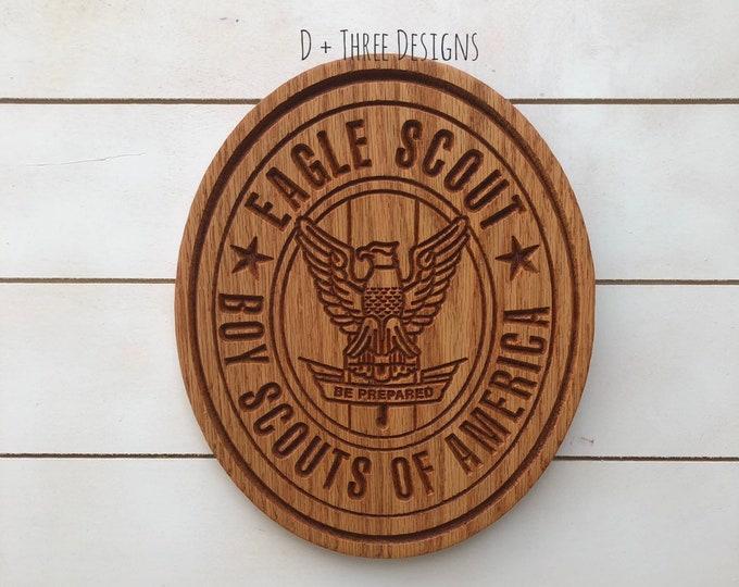 Boy Scout Eagle Plaque