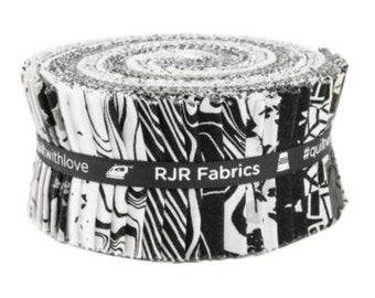 RJR Fabrics Gray Matter/Jelly Roll Race/Rolie Polie/Gray Matter/Jelly Roll