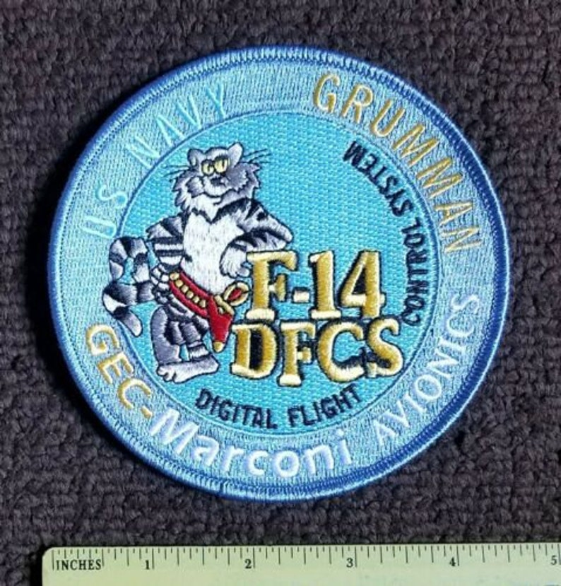 Navy Grumman Fighter pilot F-14 TomCat Military collectors Patch