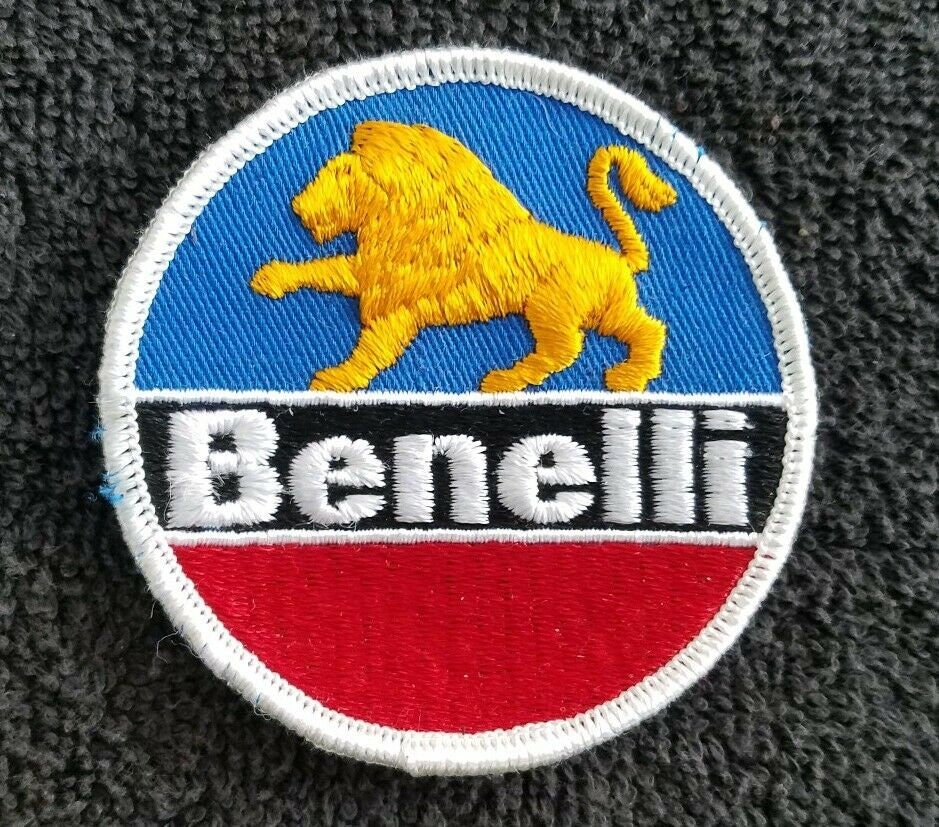 Benelli Logo Patches Patch Embroidered Iron-On Diameter 7 CM