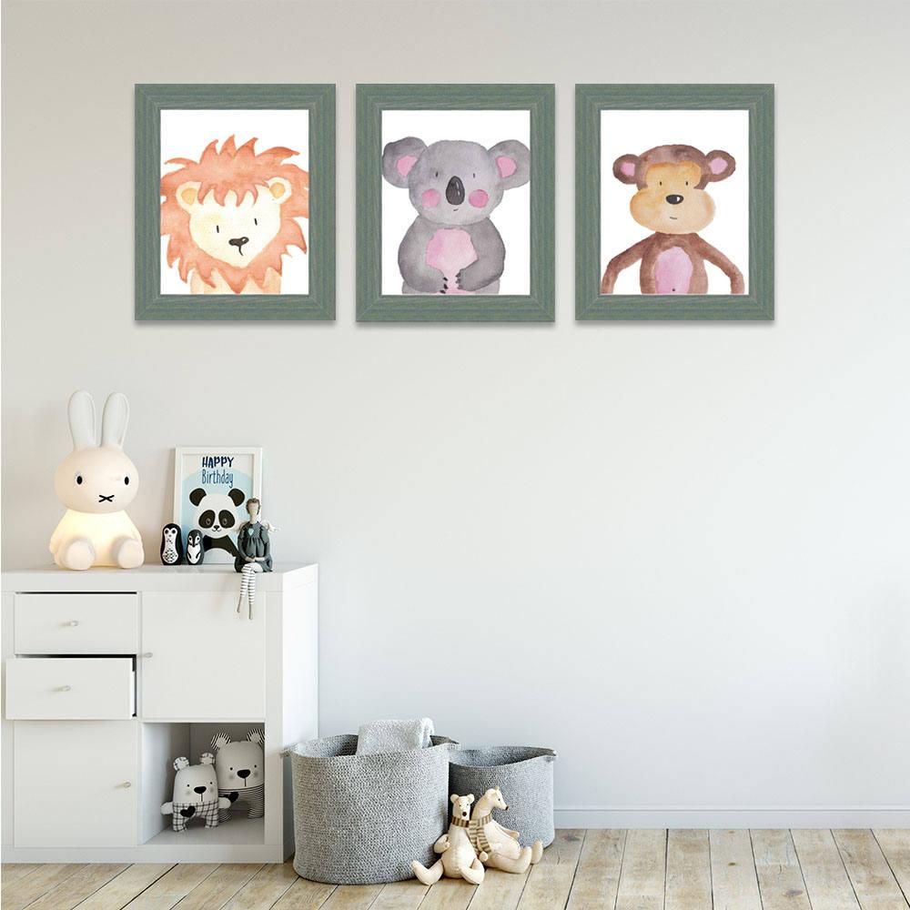 VARIOUS SIZES Nursery Print KOALA WALL PRINT Wall print Wall Art