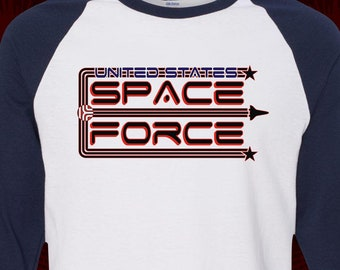 4af47115465d1 United States SPACE FORCE - T-shirt - adult Premium Ringers