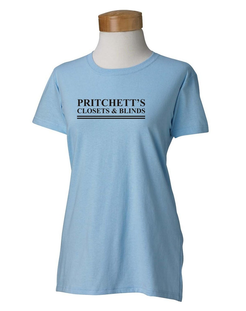 1f9a9df0 PRITCHETT'S CLOSETS & BLINDS Women's T-shirt in | Etsy