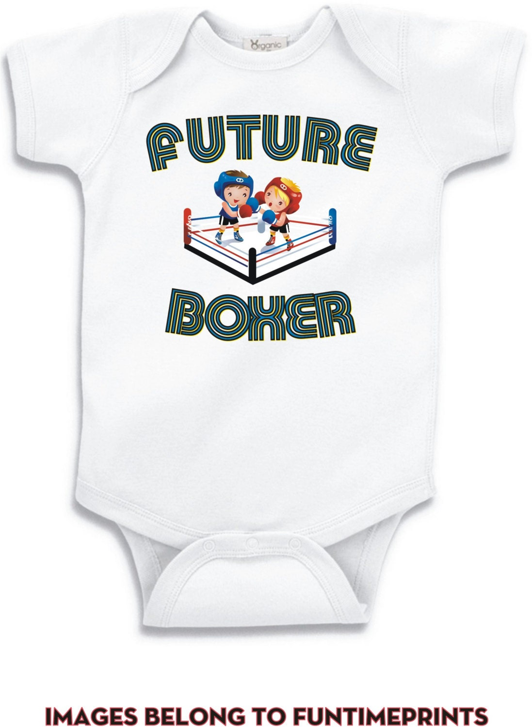 Future Boxer T-shirt Or Bodysuit-infant Toddler Youth Romper Tshirt Funny Fun Boys Girls Kids Baby Clothing Childrens Sports Boxing - 0052 Unisex Tshirt