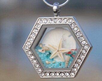 Elegant necklace, Beach wedding jewelry, Everyday necklace, Mom's necklace, Crystal necklace, Rhinestones jewelry, Elegant women necklace.