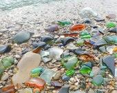 Genuine Sea Glass bulk Sea Glass Beach glass mix Sea glass crafting Beach decor sea glass jewelry making supply beach lovers