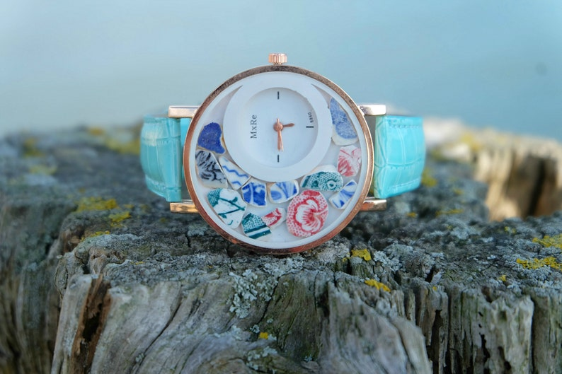 Women Watch Wrist Watch Women Watches for women Sea pottery image 0