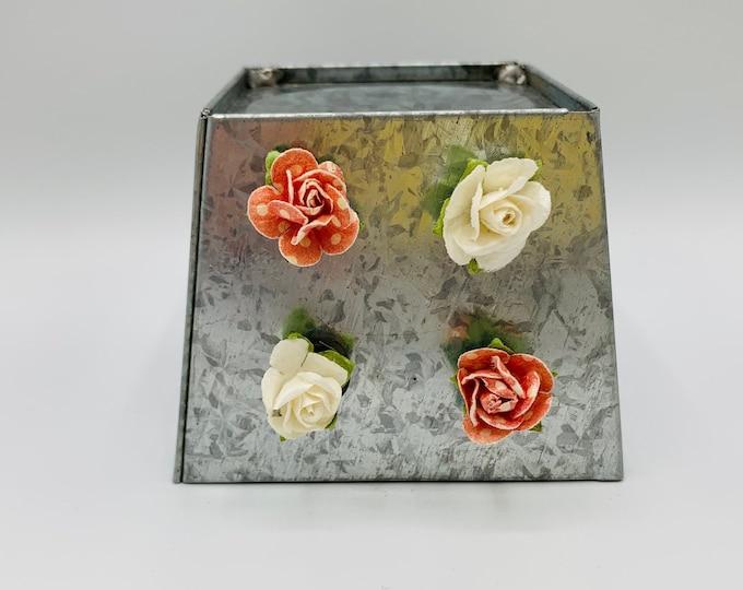 Flower Magnet Set/Set of 4 Magnets/Small Gifts for Her/Gift for Flower Lovers/Small Magnets/Handmade Refrigerator Magnets/Work Board Magnets
