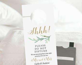 Wedding door hanger | Etsy