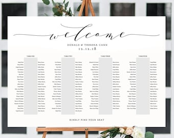 banquet seating chart 3 long tables banquet table plan etsy