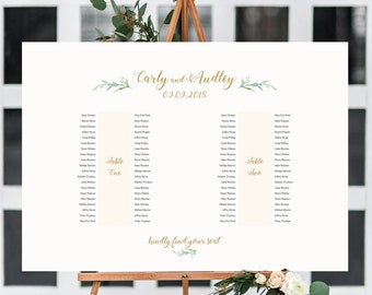 banquet table plan etsy