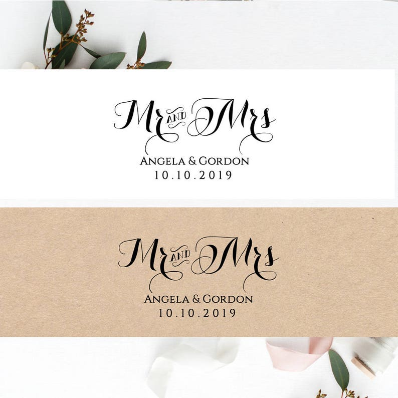 Invitation Belly Band Printable Template Wedding Belly Band image 0
