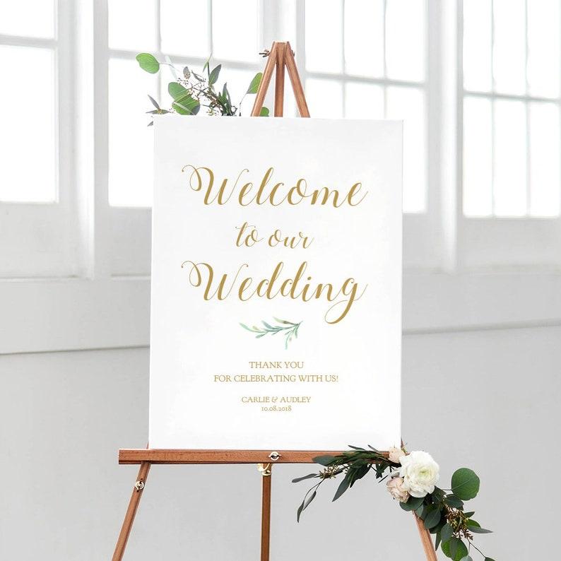 Greenery Printable Wedding Programs Garden Wedding Program Edit in WORD or PAGES Wedding Programs Template