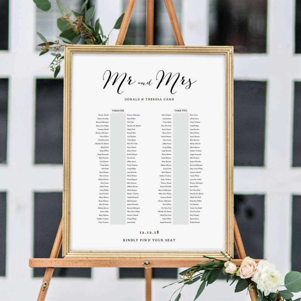 banquet seating chart 2 long tables banquet table plan printable