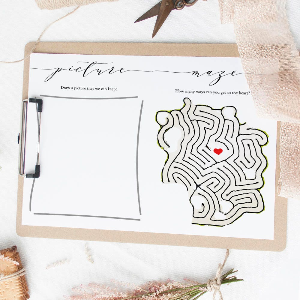 Wedding Kids Activity Book Printable Activities For Pack Coloring Maze Word Search I Spy Download And Print