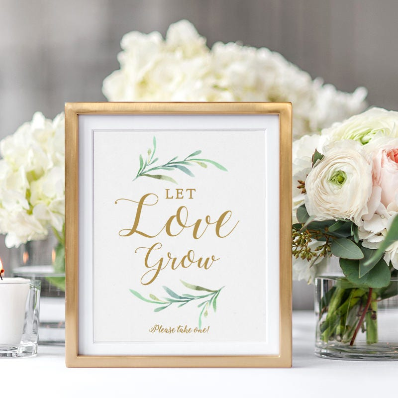 photograph regarding Please Take One Sign Printable known as Allow for Get pleasure from Improve Indication Wedding ceremony favour indicator, Be sure to get just one indicator