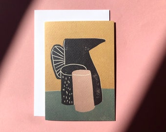 Art Card - Greeting Card - Still Life - Birthday Card