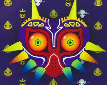 50% off 2018 Weekly Planner | Majora's Mask Cover