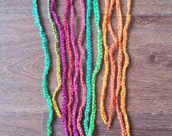 Wool braid extensions