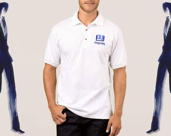 Logo Polo Shirt - Personalized Shirt, Custom Company shirts, Custom Promotional Shirts, Corporate Event, Customized Business Polo Shirt