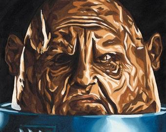 Doctor Who Villain Sontaran 10 x 20 Print