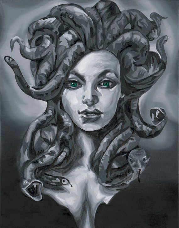 Medusa pillowcase | Etsy