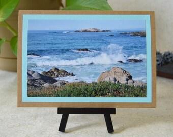 California Coast Ocean 5x7 Photo Card