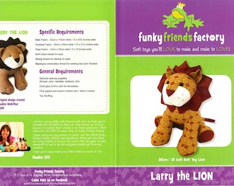 Larry the Lion pattern only