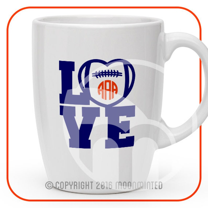 723+ Football Love Svg for Silhouette
