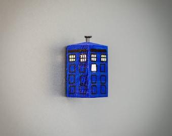 Dr Who Tardis Refrigerator Magnet. Handmade to Order.