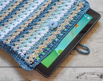 Sweetheart Tablet Cover. 120 Colour Options. Handmade to Order.