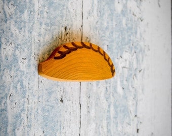 Cornish Pasty Brooch. 90 Colour Options. Handmade to Order.