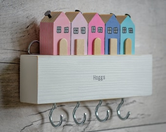 Terrace Houses Batten Key Rack. 4 Styles. 90 Colour Options. Handmade to Order.