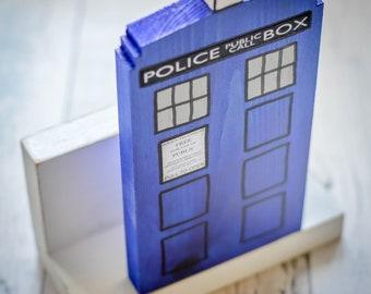Dr Who Tardis Letter Rack. Handmade to Order.