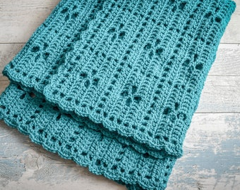 Call the Midwife Baby Blanket. 97 Colour Options. 90x70cm (35.43x27.55in) Handmade to Order.