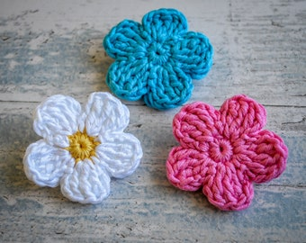 Flower Petals Brooch. 120 Colour Options. Handmade to Order.