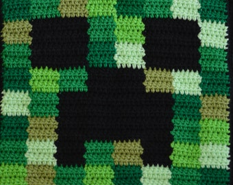 Minecraft Inspired Double Sided Cushion. 12 Designs. Handmade to Order.