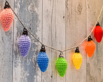 Fairy Lights String Garland. 120 Colour Options. Handmade to Order.