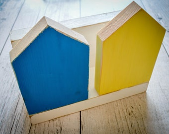 House Shapes Letter Rack. 4 Styles. 90 Colour Options. Handmade to Order.